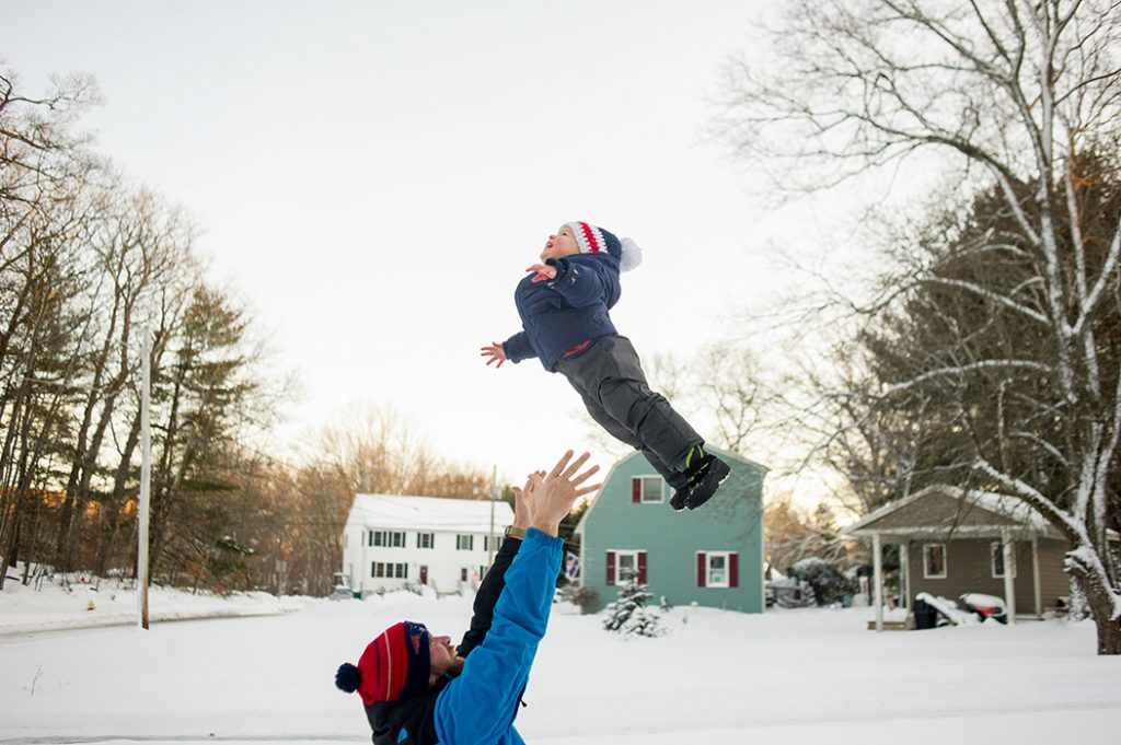 beverly ma family photographer winter